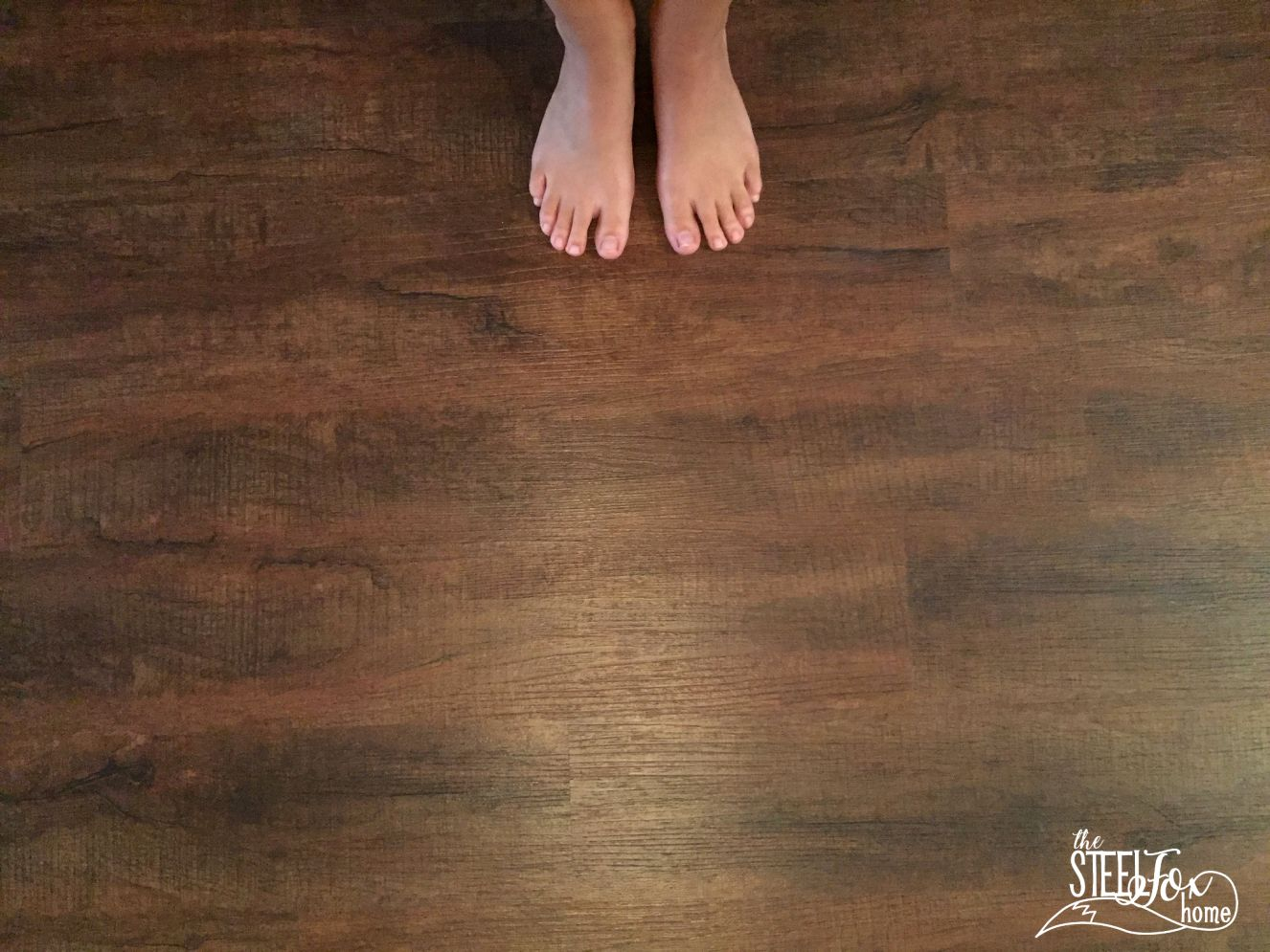 luxury vinyl plank wood flooring whole house makeover. why we