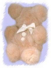 Make a family of pompom teddy bears.  All you need is a bag of assorted pompoms and some tacky glue.  This is a good activity for a child who is not feeling well, or who needs some creative, quiet time.