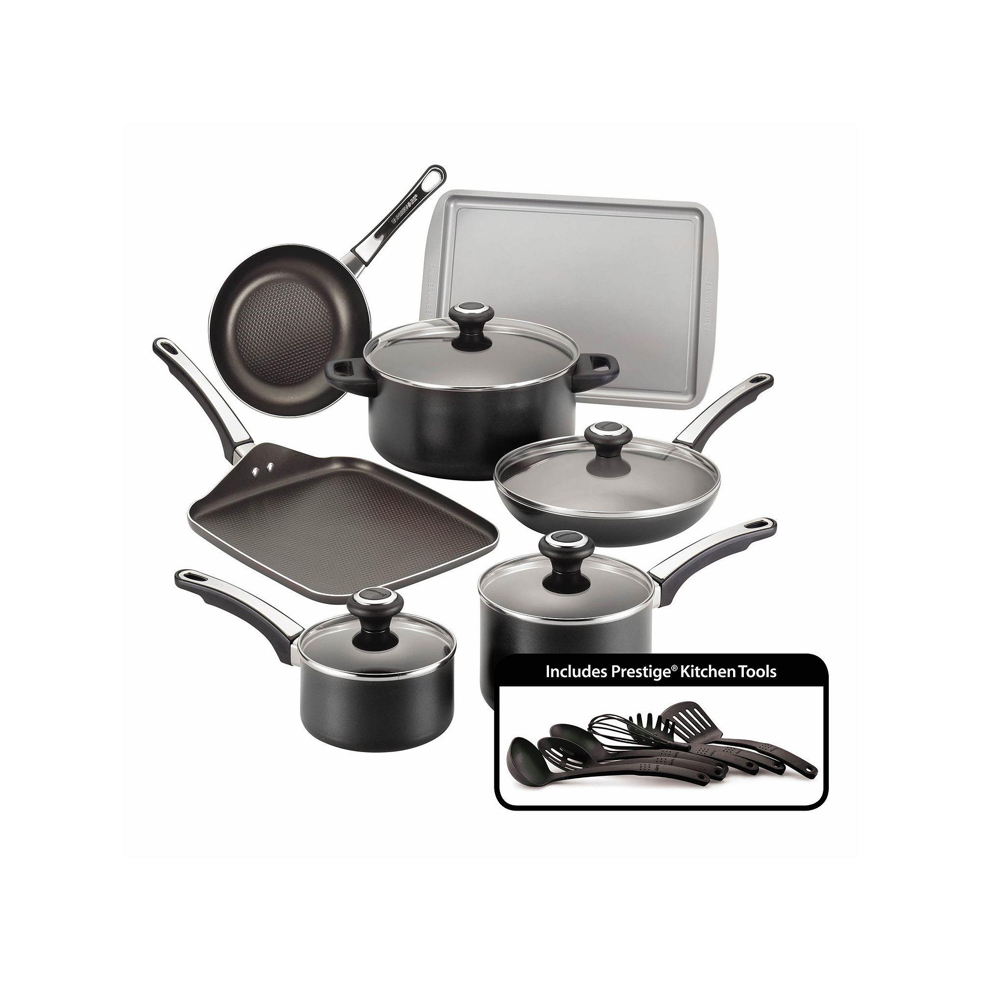 Farberware High Performance 17 Pc Nonstick Cookware Set