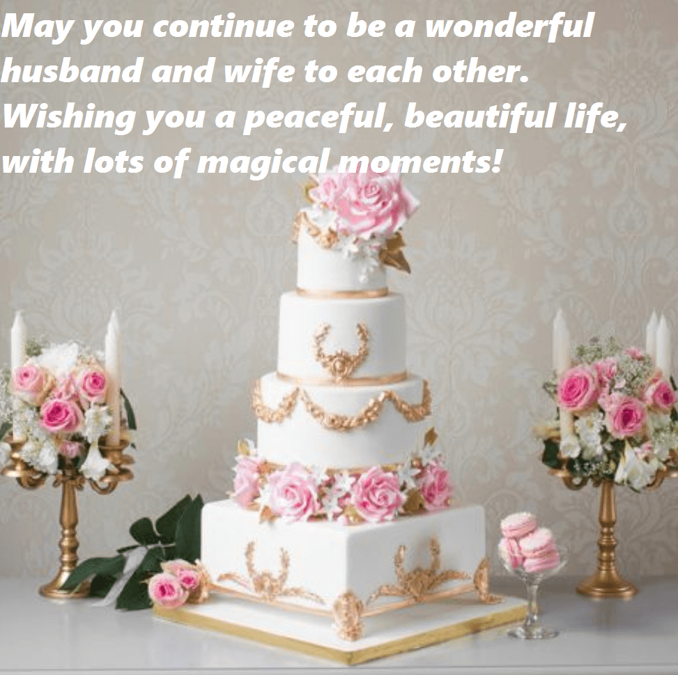 Hy Anniversary Wishes Cake Flowers Images