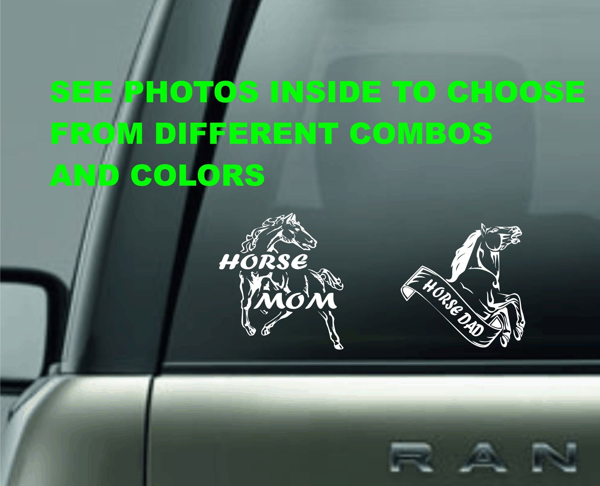Horse Decal Window Sticker Personalized Horse Gift For Horse Lover Personalized Horse Gifts Horse Gifts Horse Lover [ 1649 x 2035 Pixel ]