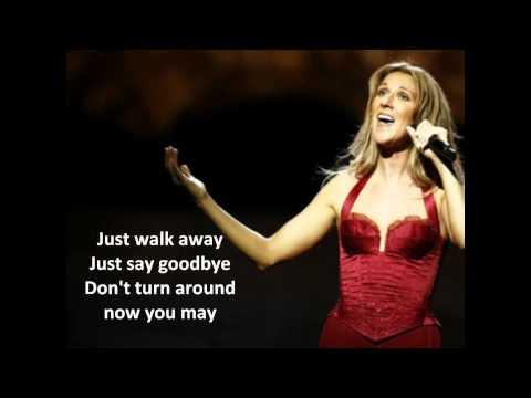 Just Walk Away Selin Dion S Tekstami Pesen Youtube Teksty Pesen Selin Muzyka