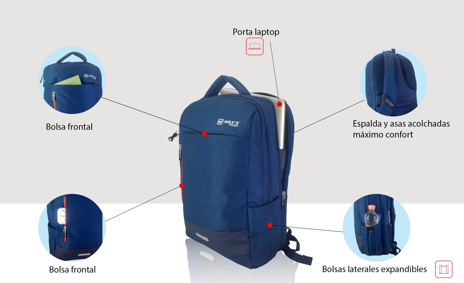 d761a0835 Backpack mochila ejecutiva, nuevo modelo con todas las características de  la mejor portabilidad, mochilas