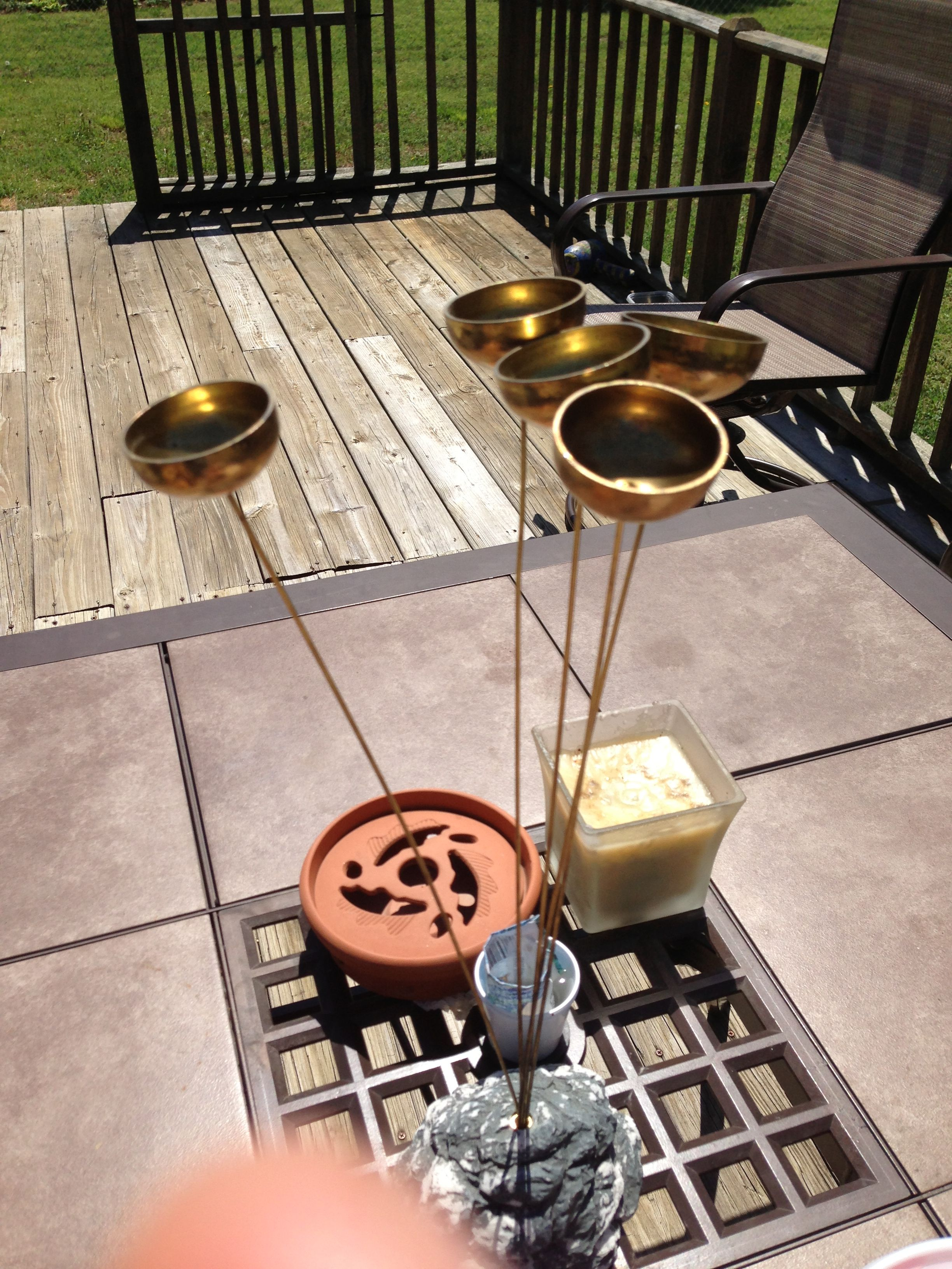 Cool wind chime for a table!!