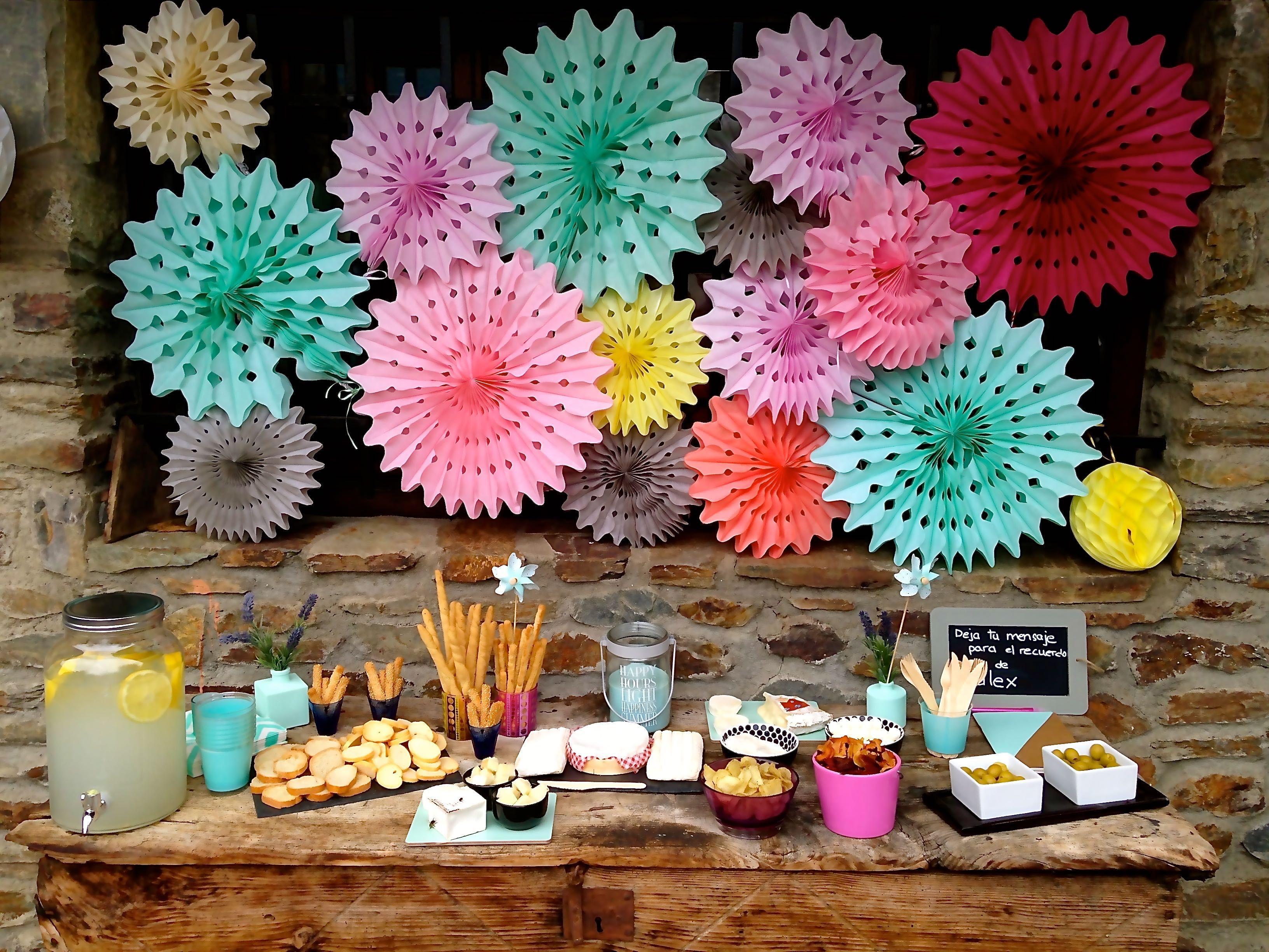 Ideas fiesta cumpleaos adultos diseno indice de ideas - Decoracion de mesas cumpleanos adultos ...