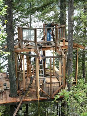 Easy Treehouse Designs | Treehouse by Design