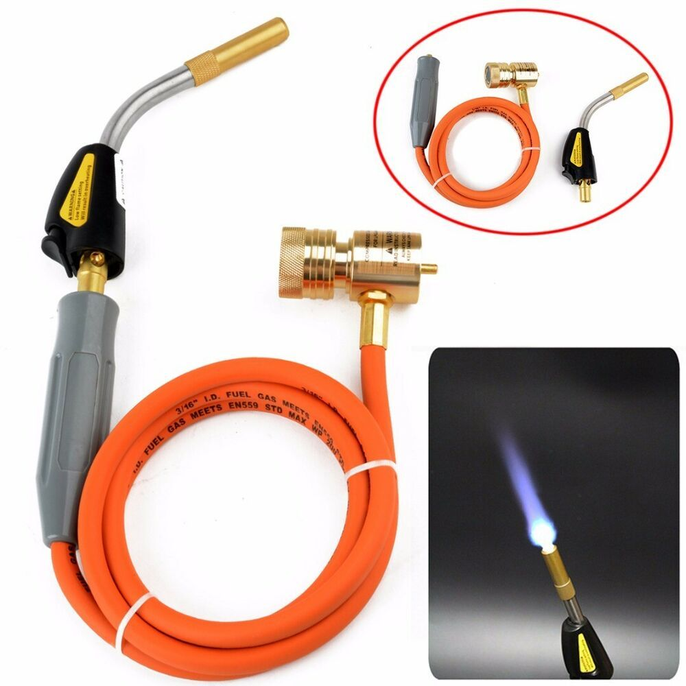 Kit Plumbing Air Conditioning Soldering Gas Plumbing Turbo Hose Propane Welding
