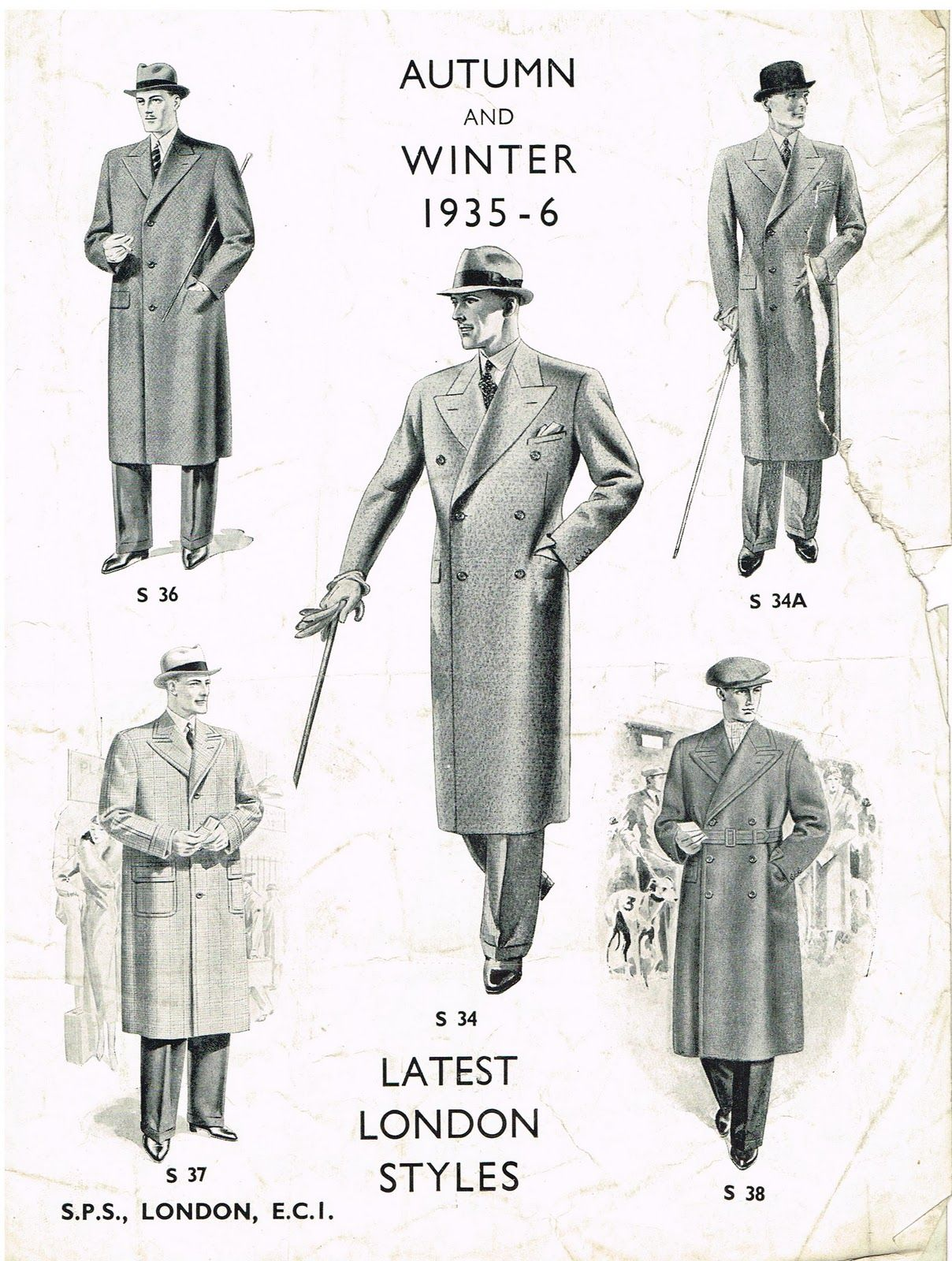 The Tailor Cutter Overcoats Permanent Style Hipster Mens Fashion Vintage Men 1930s Fashion