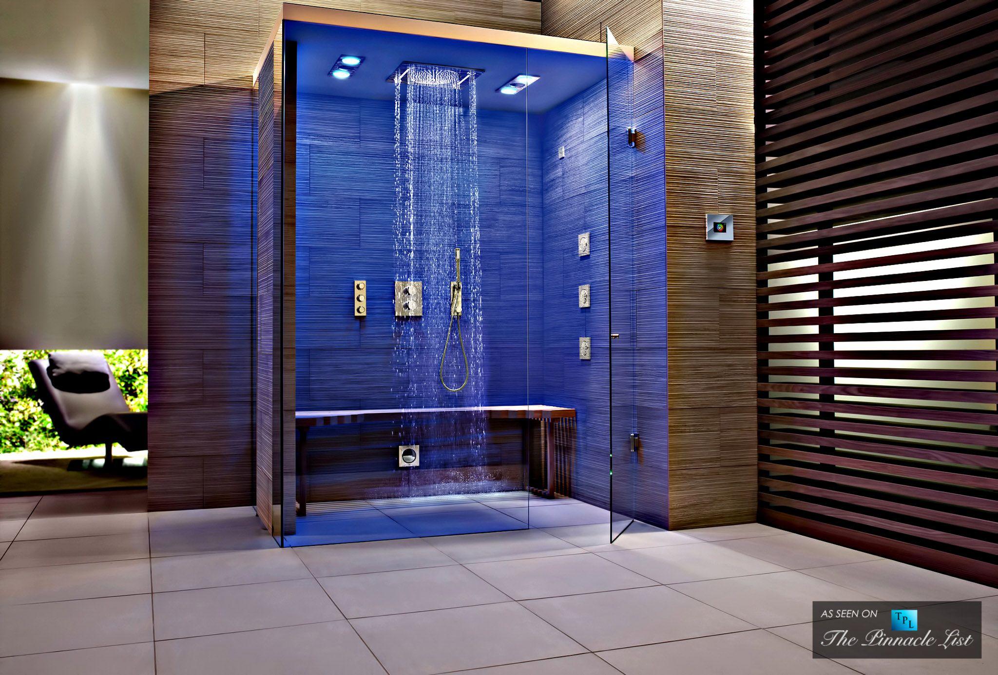Luxurious Showers Contemporary Master Bathroom Unique Bathroom Design Unique Bathroom