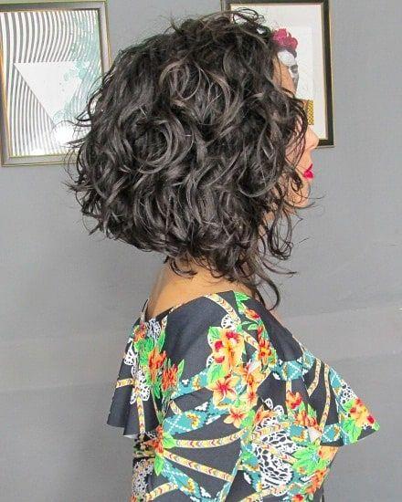 A Line Bob Wavy Hair Google Search Layered Curly Hair Curly Hair Styles Naturally Curly Hair Styles