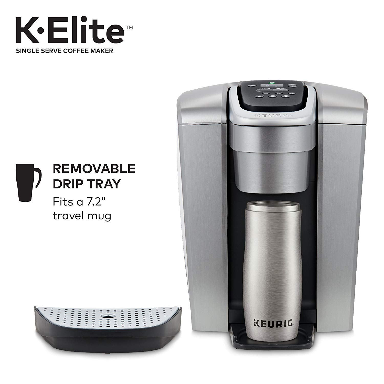 Keurig K Elite Single Serve K Cup Pod Coffee Maker The Cooking Life Starts At P Y Mansion Coffee Maker Pod Coffee Makers Keurig