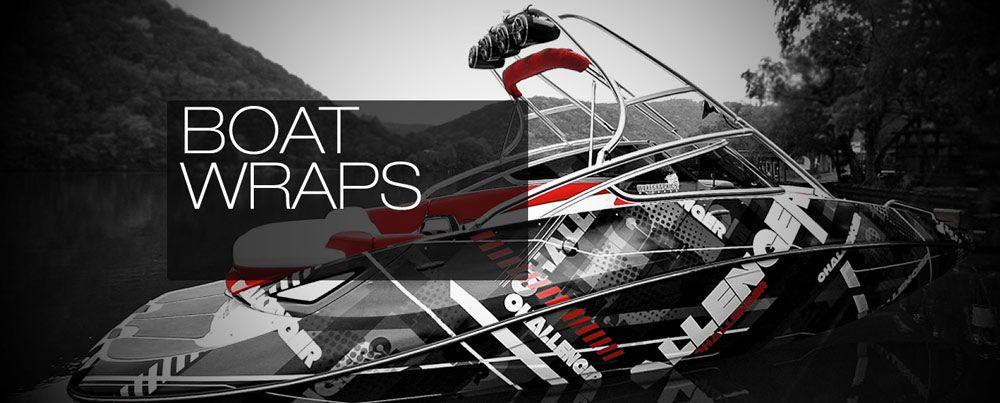 wake graphics designs prints and installs custom boat wraps - Boat Graphics Designs Ideas