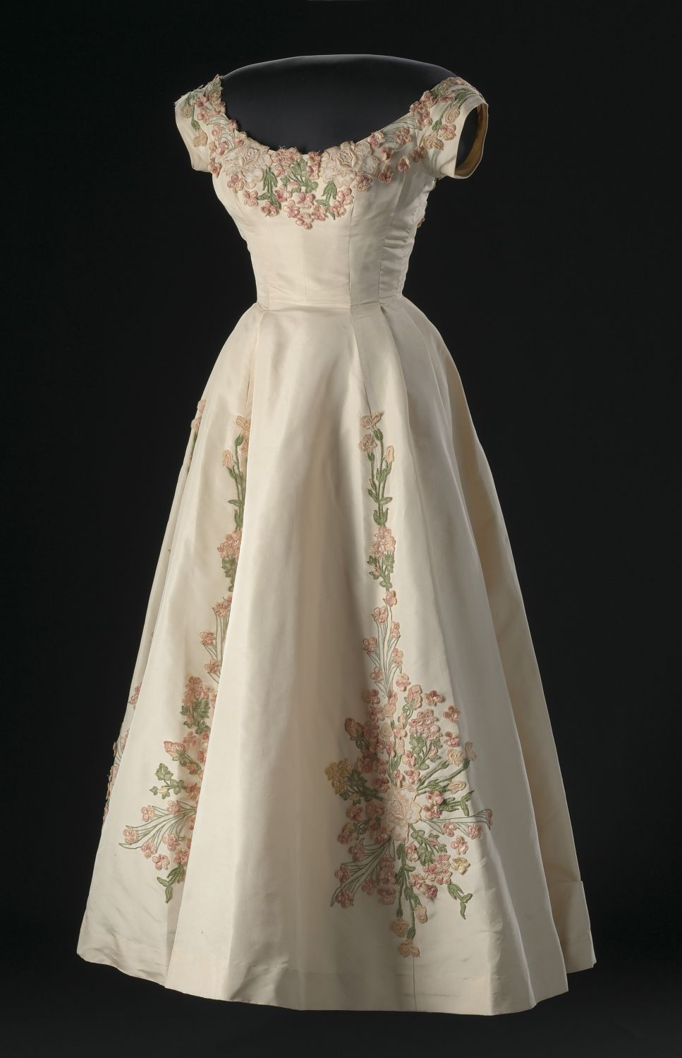 African american designer wedding dresses  Ann Lowe evening dress  From the National Museum of African