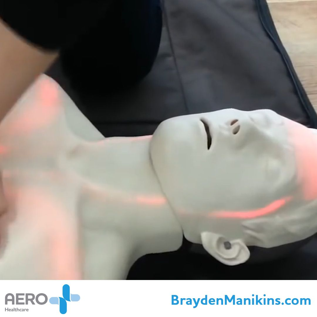 See the amazing Brayden CPR Manikin on our new website