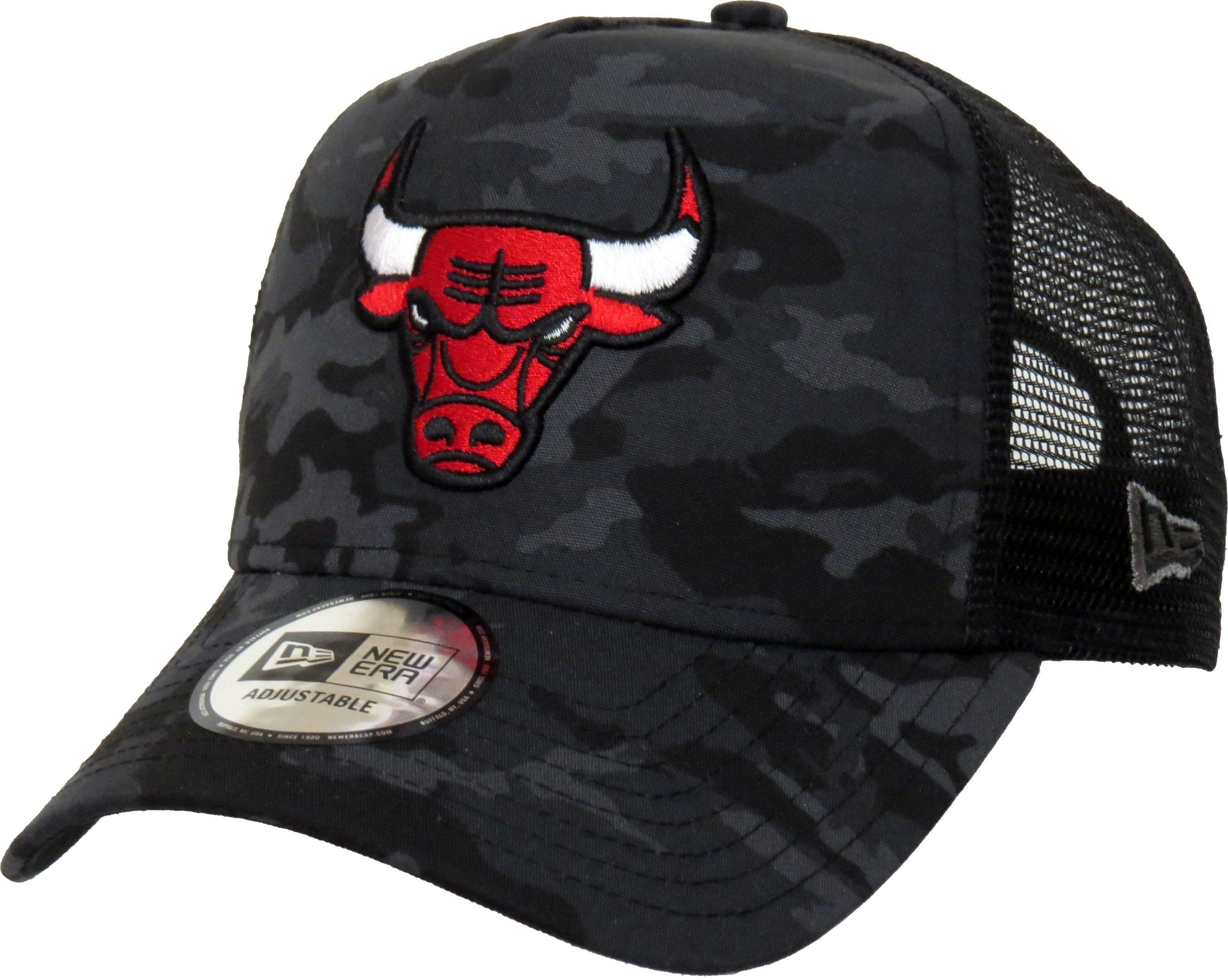 on sale 24335 c9360 Chicago Bulls New Era Camo Team Trucker Cap – lovemycap