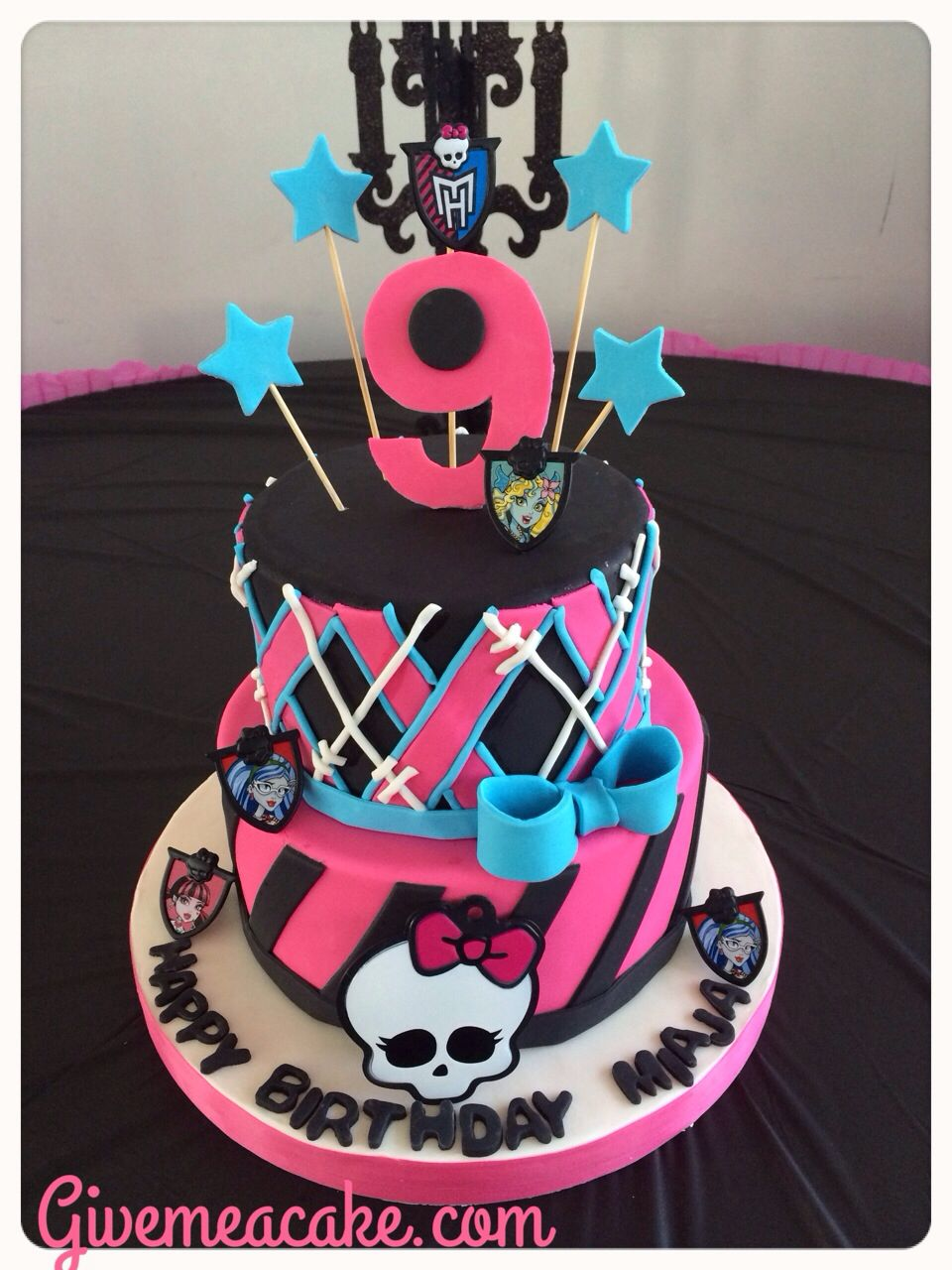 Monster High Birthday Party Cake From Givemeacake Customized Cakes At Edison Nj Contact Email Sshennnycgmail