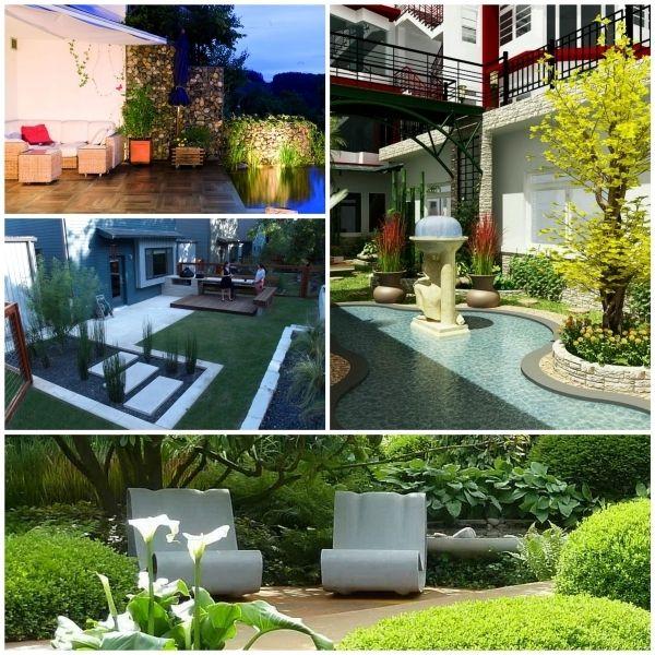Garten Modern Gestalten Moderne Gartengestaltung Gartengestaltung
