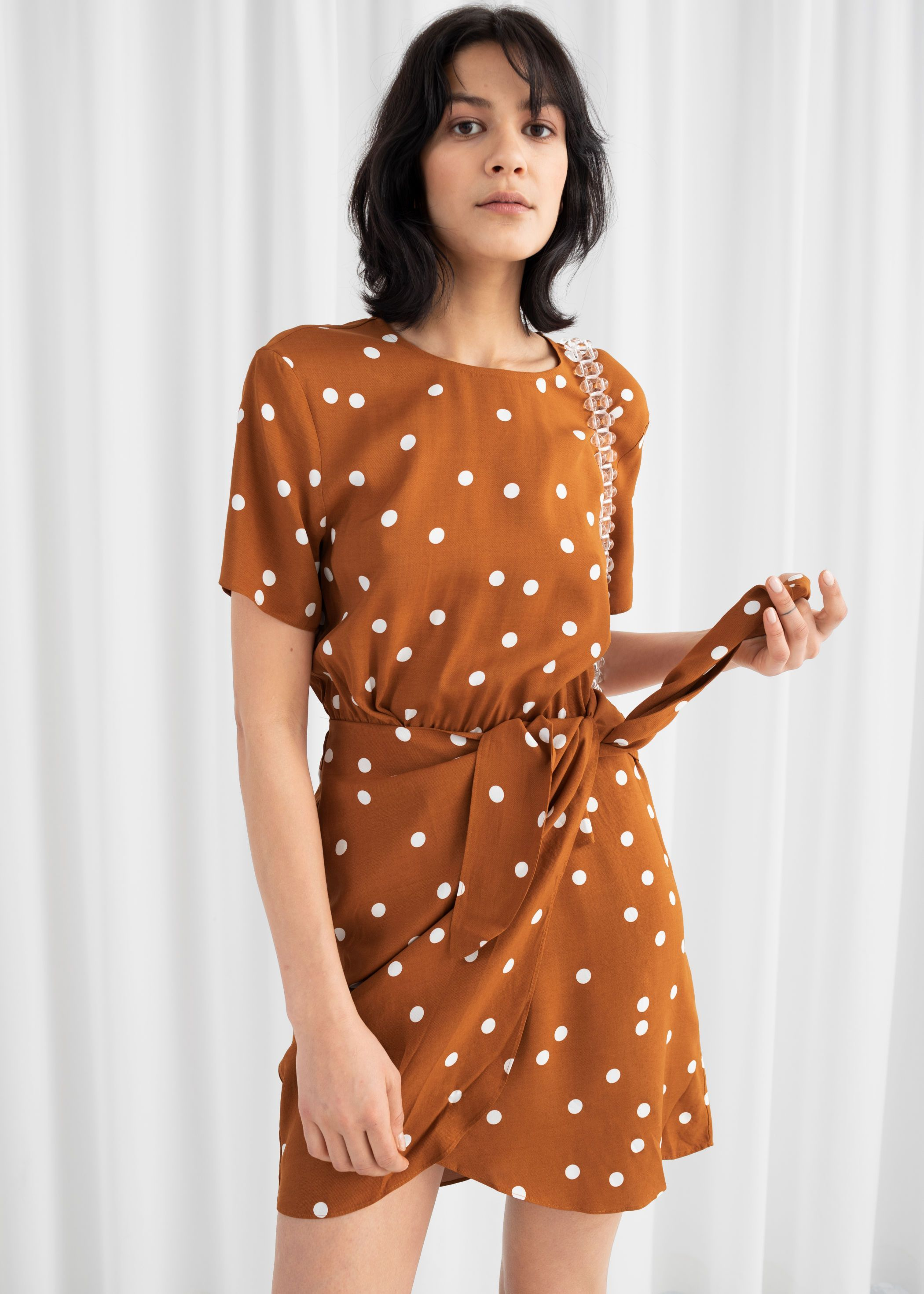 7 Spring Trends Inspired By 90s Rom Coms From Pretty Woman To B A P S Mini Wrap Dress Wrap Dress Short Sleeve Mini Dress [ 2940 x 2100 Pixel ]