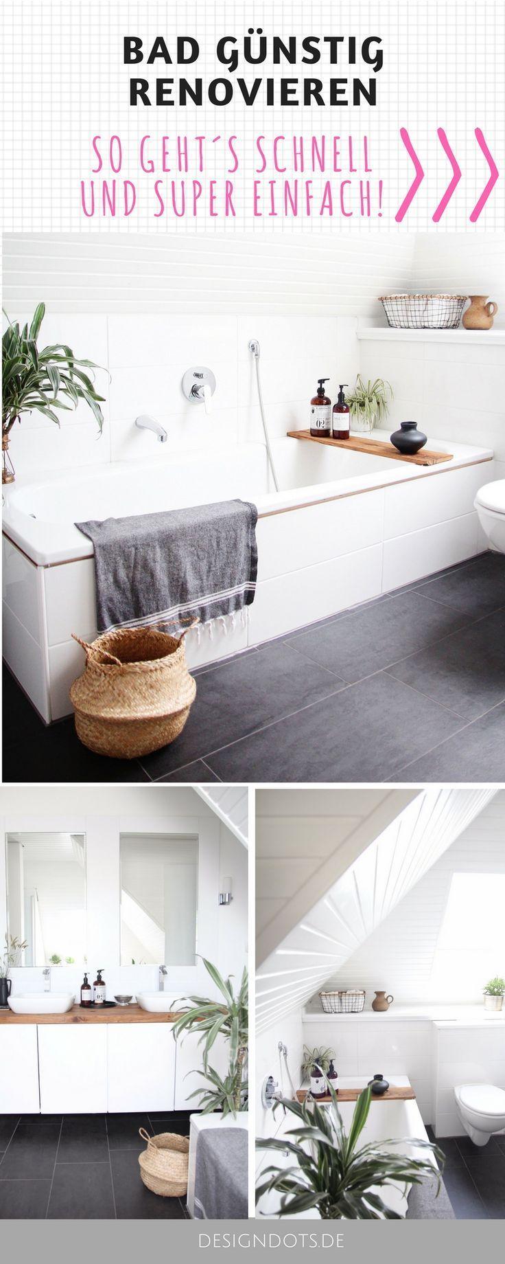 Photo of Badezimmer selbst renovieren: vorher / nachher,  #Badezimmer #diybathroomdecormirror #Nachher…