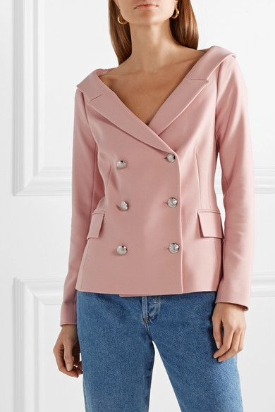 0300ea88 Veronica Beard | Frayne double-breasted crepe blazer | NET-A-PORTER.COM