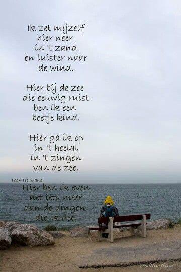 Citaten Zee : Gedicht toon hermans over de zee inspiration poetry zee