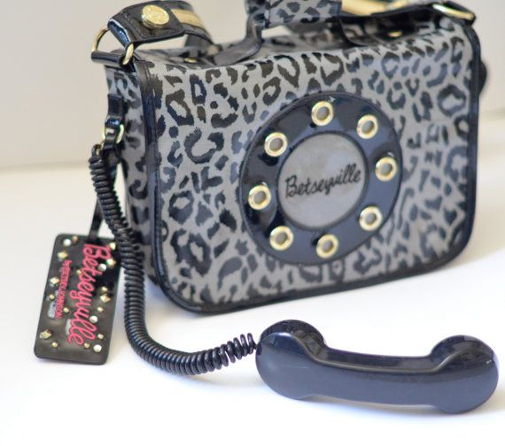 Rare BETSEY JOHNSON Collect Call Vintage by LaGlamVintage on Etsy, $150.00