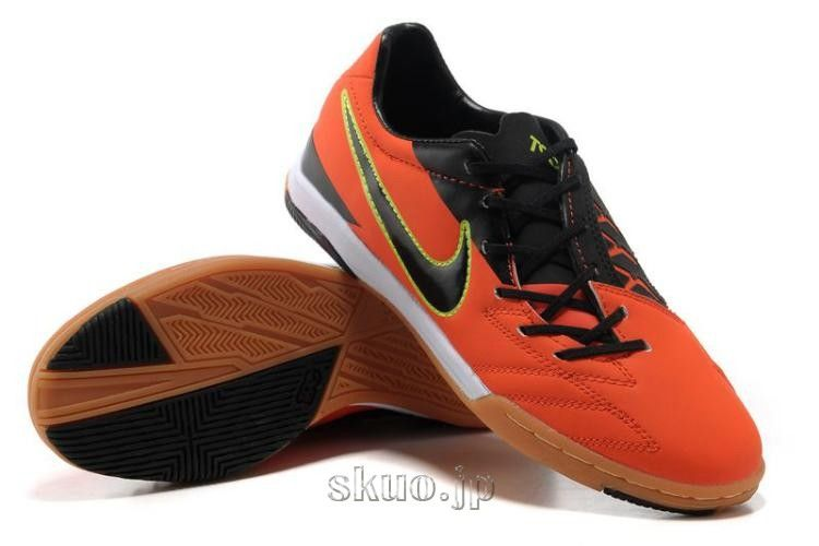 ナイキ サッカー スパイク トータル90 ターフトレーニング 4 Nike Total 90 Laser IV IC オレンジ/ブラック  --skuo.jp