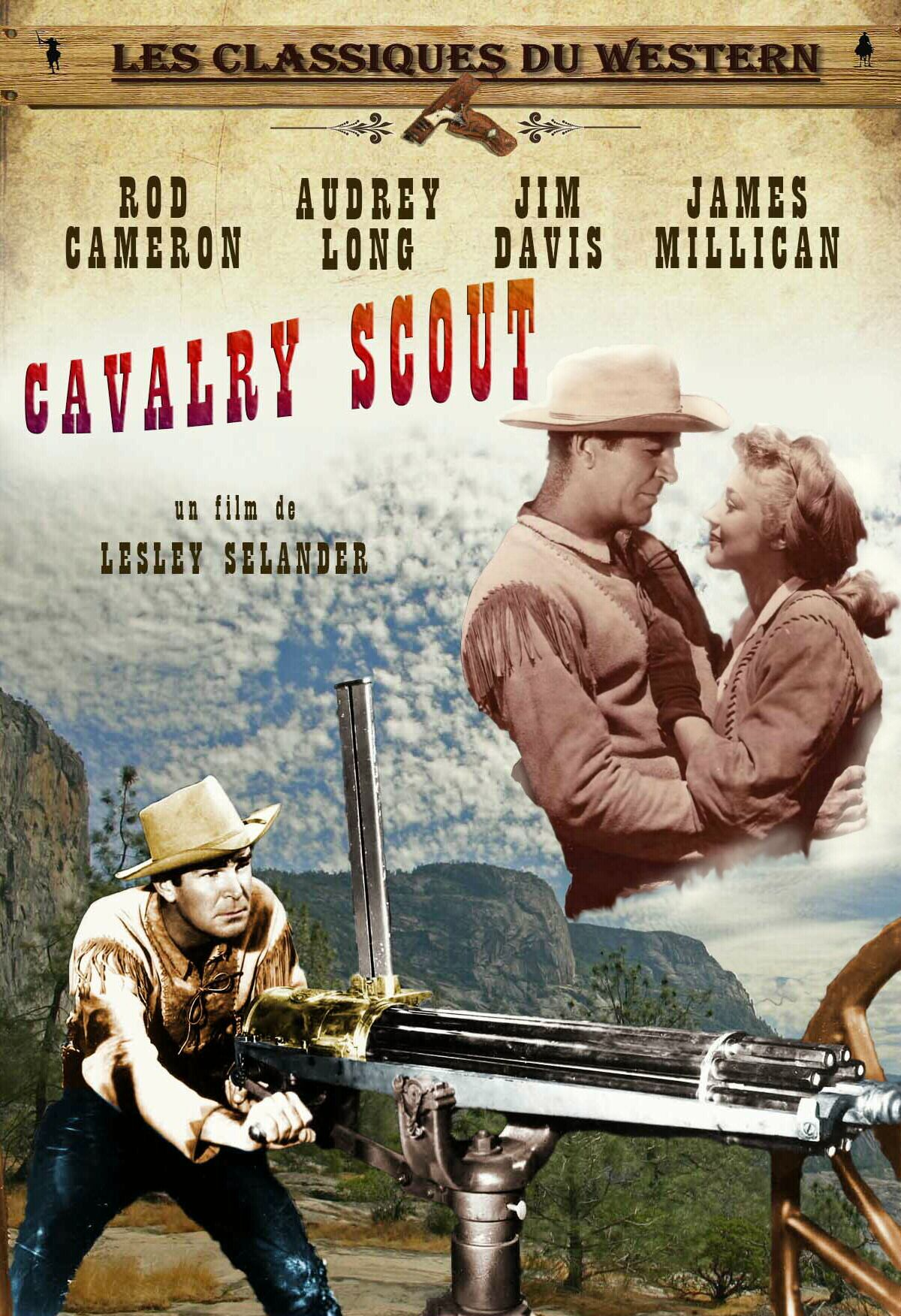 cavalry scout 1951 dvd front cover pinterest scouts. Black Bedroom Furniture Sets. Home Design Ideas