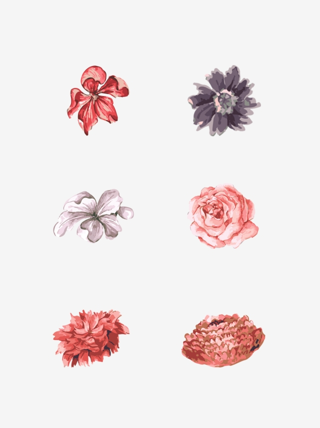Plant Hand Drawn Wind Autumn Small Flower Decorative Element Plant Hand Drawn Style Small Flower Png Transparent Image And Clipart For Free Download Small Flowers How To Draw Hands Flower Png
