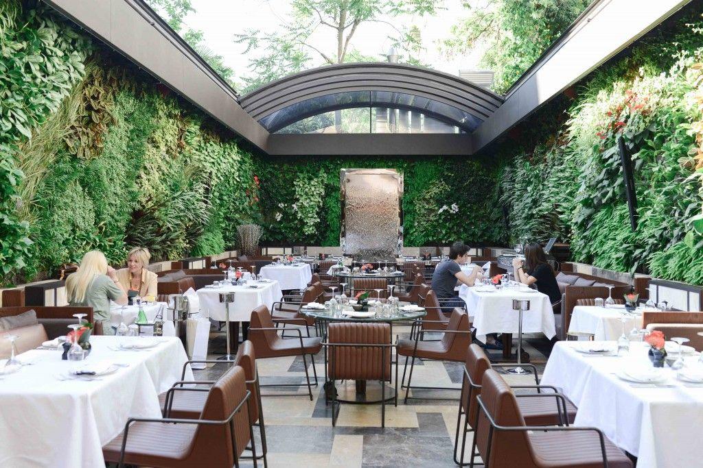 Nopa Istanbul Outdoor Restaurant Cafe House Restaurant Design
