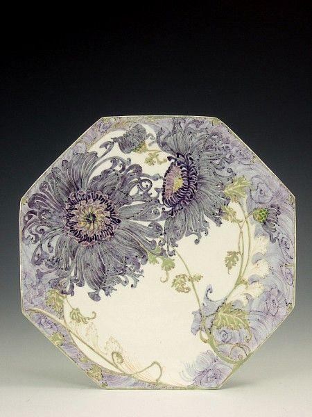 Rozenburg, Den Haag, Samuel Schellink, 1902: a large porcelain plate | Proportio Divina