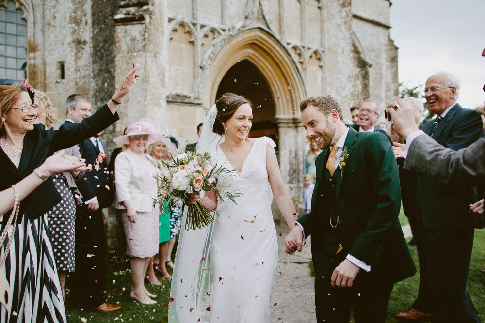 An Elegant Summer Wedding At North Cadbury Court Somerset Summer Wedding Confetti Wedding Exit Wedding