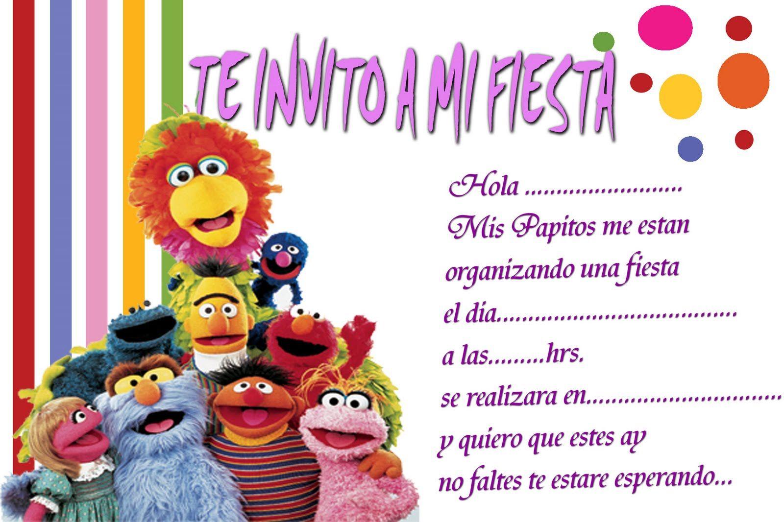 Tarjetas De Invitacion A Cumpleaños Para Enviar Por Facebook