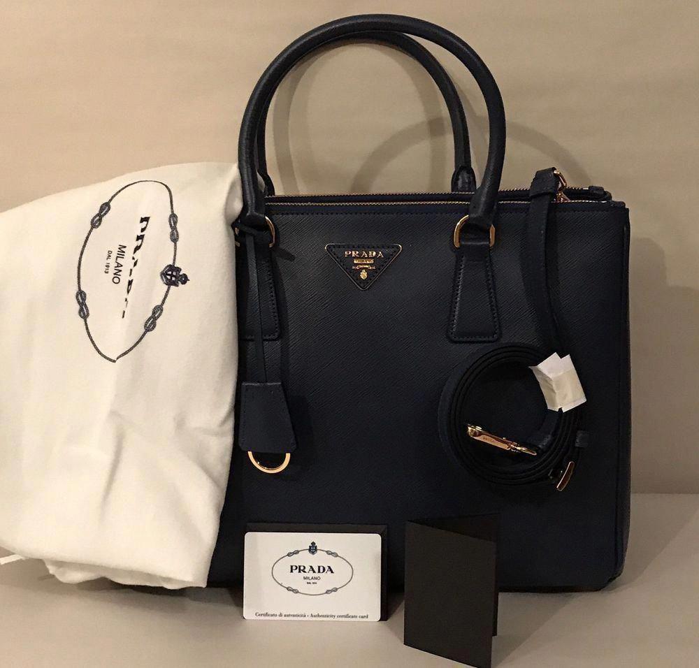 fa05be382cfaca ... france authentic medium prada bag saffiano lux calf tote black handbag  fashion 18c5a 4f0d2