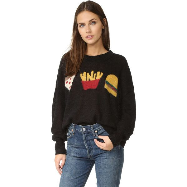 147d9dadbe Wildfox Fries with That Sweater ($164) ❤ liked on Polyvore featuring tops,  sweaters
