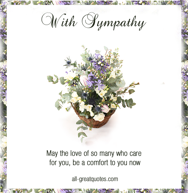 Sympathy card messages condolences poems verses in 2018 it is a straightforward way of letting them know that theyre in your thoughts since they continue reading m4hsunfo