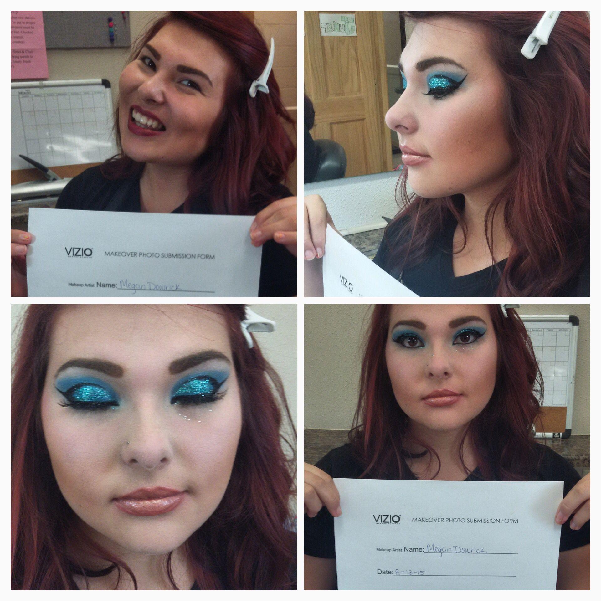 Megan's Cat Eye Rocks! Viziomakeupacademy Makeup