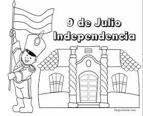 Dibujos Dia De La Independencia De Argentina Dibujo Dia De La