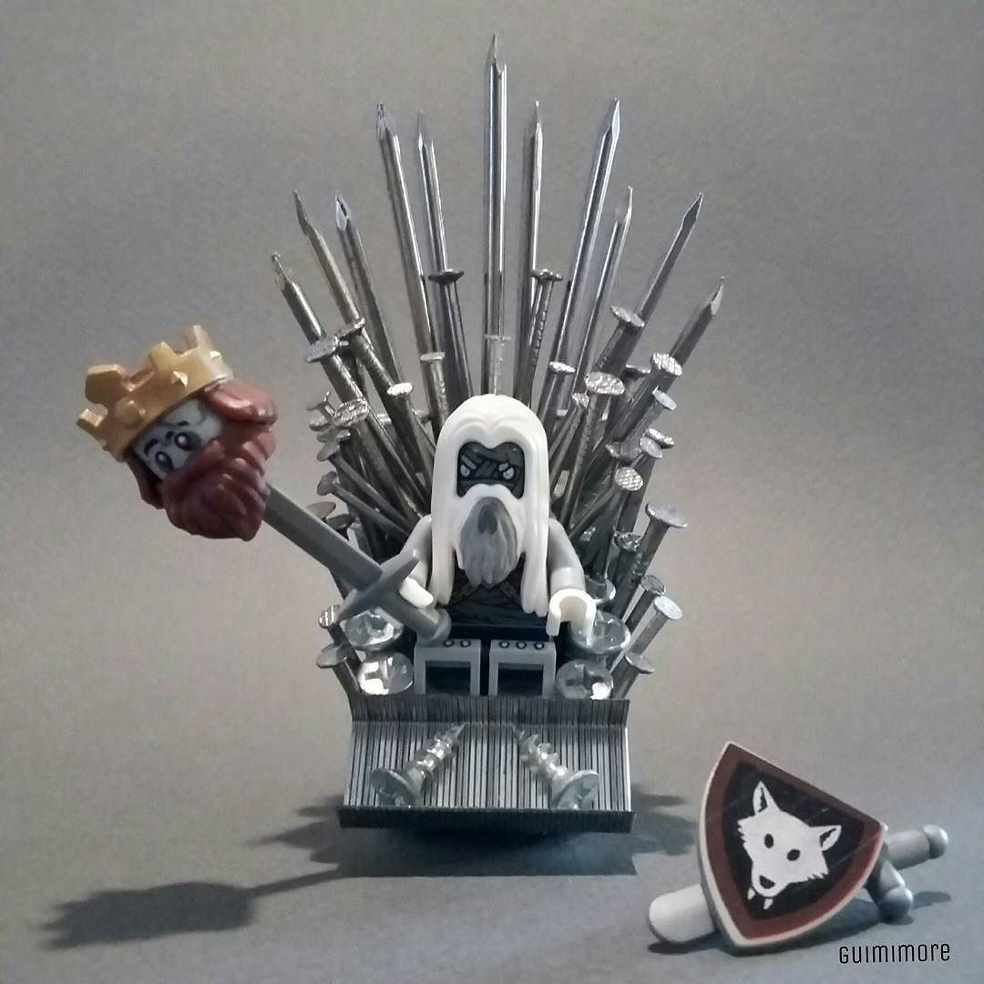Games Of Thrones is coming... Choose Stark.  #lego #legominifigures #legostagram #legography #toyphotography #got #got7 #gamesofthrones #gameofthronesfamily #stark by guimimore