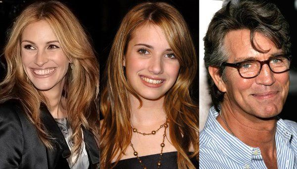 Julia Roberts,niece Emma and brother Eric | Related ...