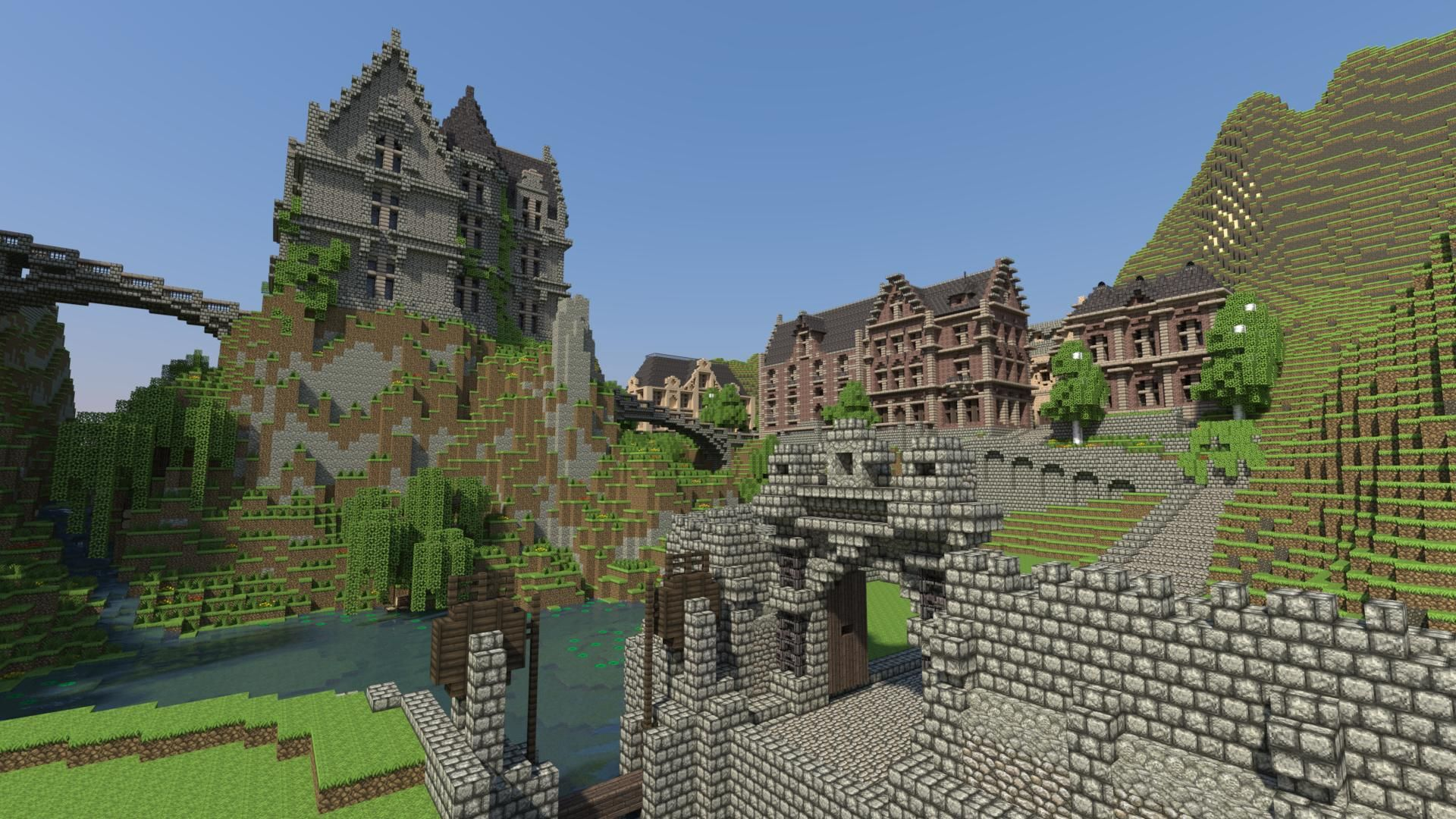 Minecraft Wallpaper for PC Full HD Pictures