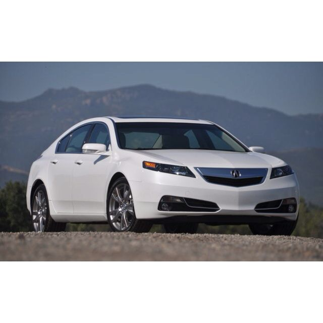 My Car ! New Acura TL Fully Loaded-white Pearl