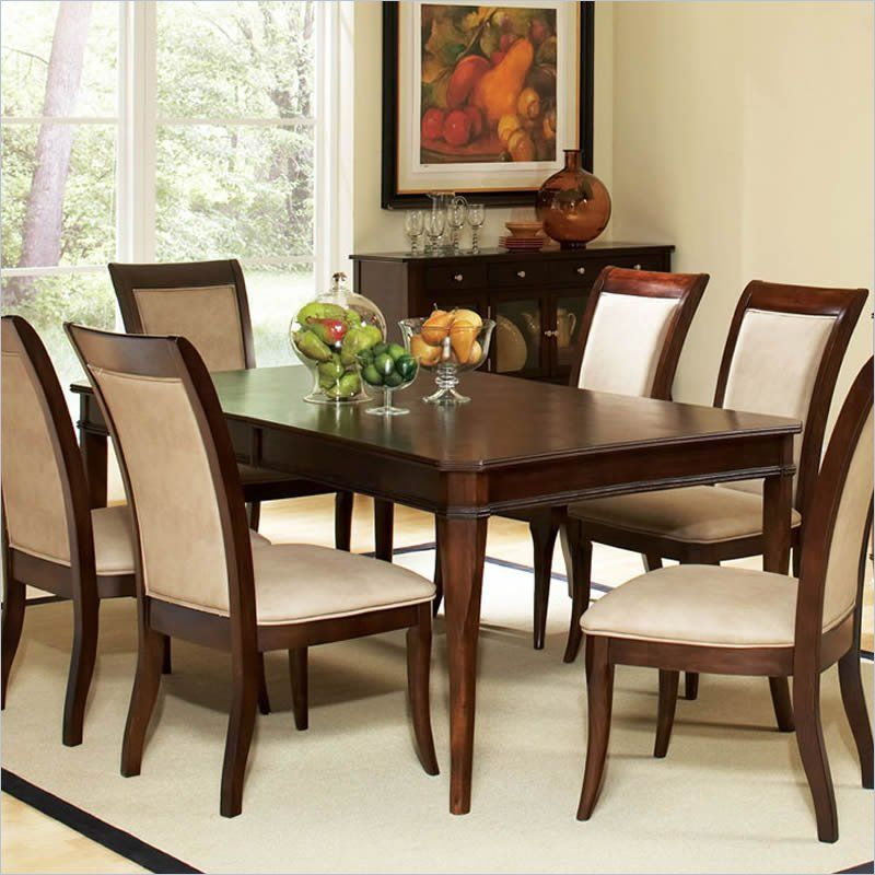 dark finish room cherry dp inch piece of sets com leaf america with table set furniture madison chair amazon dining