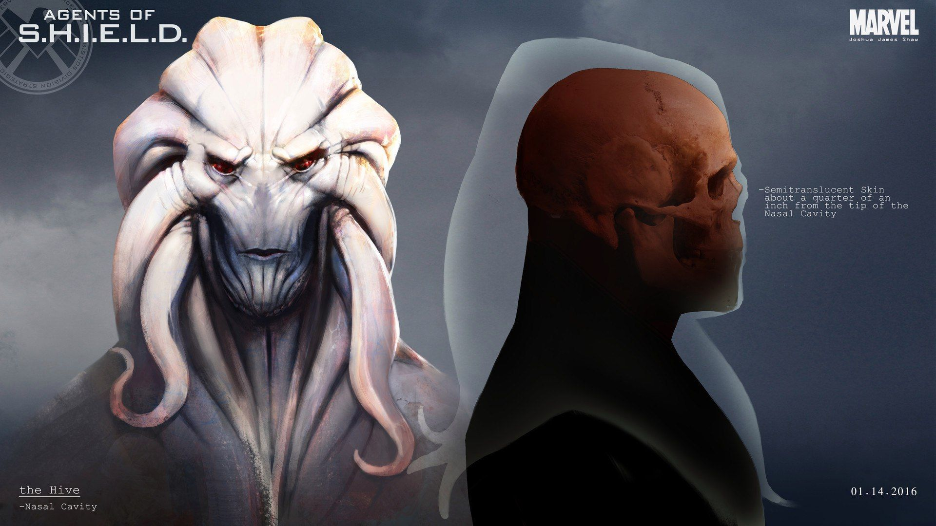 Check Out This Creepy 'Hive' Concept Art From AGENTS OF ...