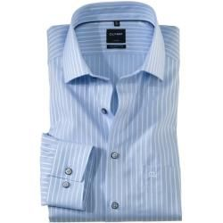 Photo of Olymp Luxor Shirt, modern fit, Global Kent, Bleu, 41 Olympolymp