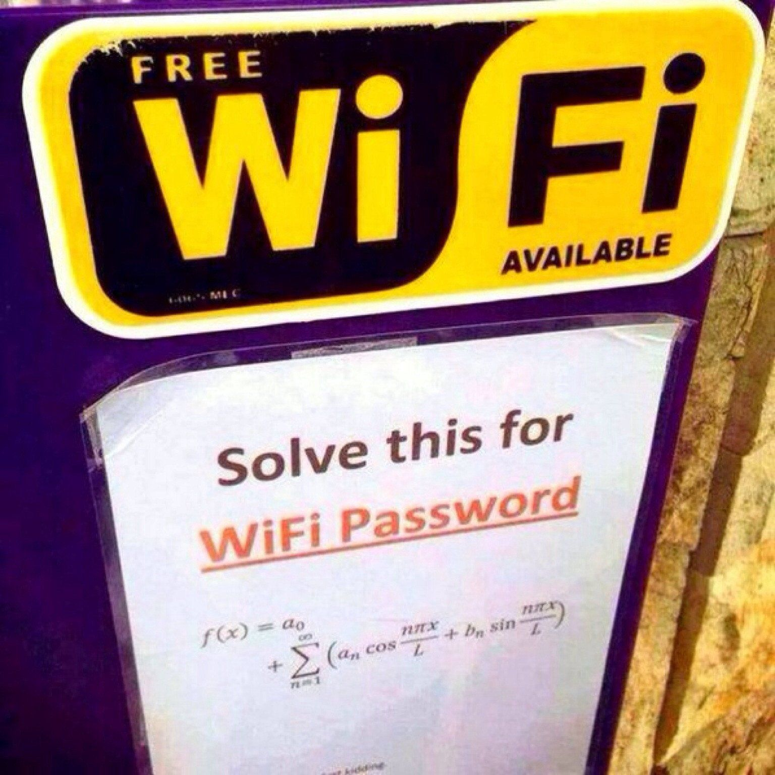WorldAndScience: Free wifi... https://t.co/d7UF6d4DRv