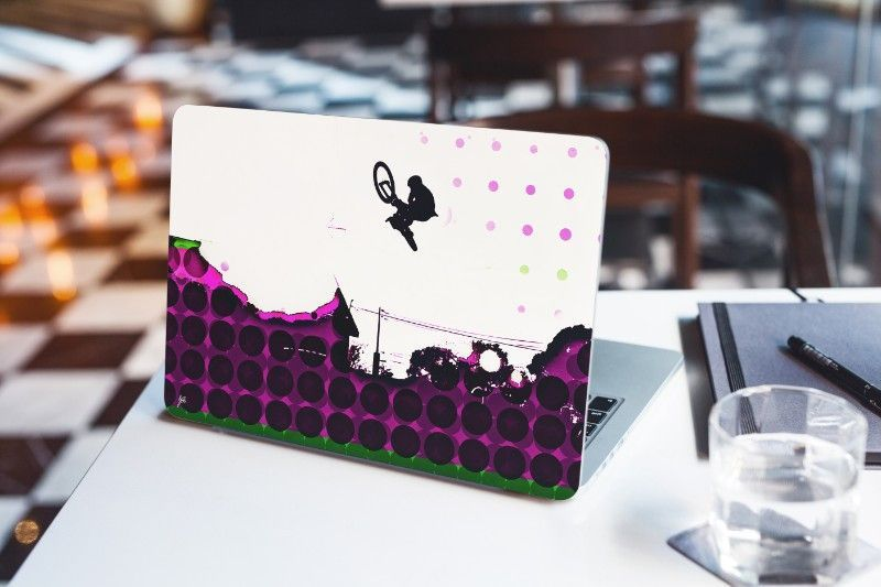 Connected Dots 6 - Laptop Skin