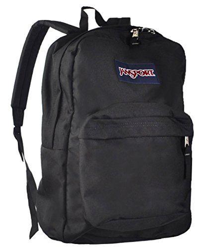 JanSport Superbreak Classic Backpack Black -- You can find more ...