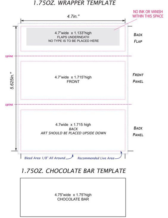 candy bar wrappers template - Google Search | just for me ...