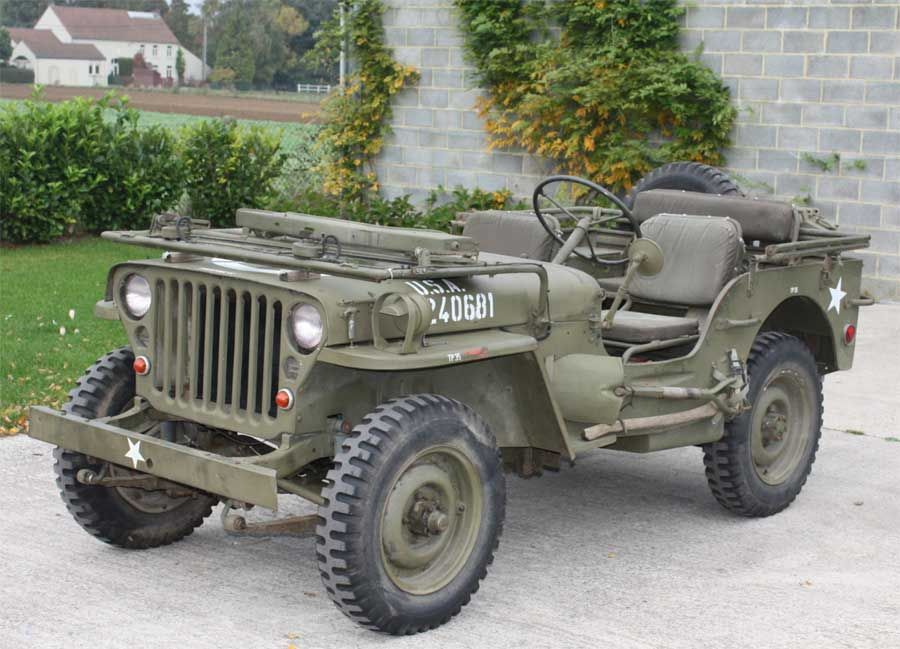 jeep willys mb 1944 military jeeps willys ford and. Black Bedroom Furniture Sets. Home Design Ideas